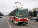 Inekon High Floor Tram for City Ufa in Russian Federation