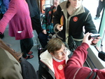Seattle streetcar - special needs passengers.